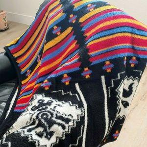 VTG IBENA Southwestern Aztec Blanket Throw